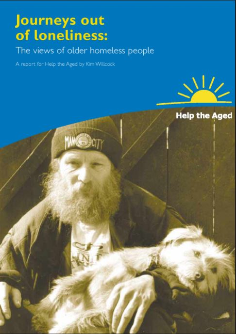 Journeys out of loneliness for older homeless people: a qualitative research study