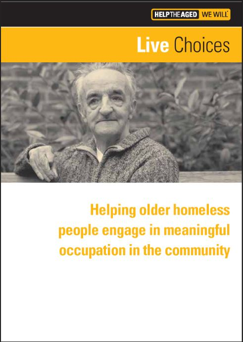 Evaluation of a meaningful occupation project for homeless seniors