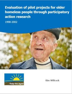 Participatory evaluation of pilot projects for homeless people