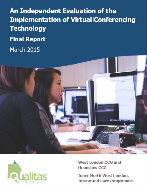 Evaluation of virtual conferencing technology within a health authority