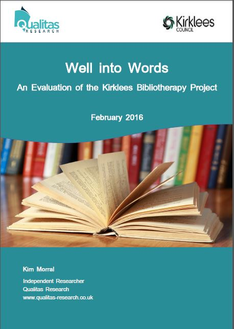 The benefits of bibliotherapy for mental health