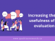 Header image for article about improving evaluation usefulness